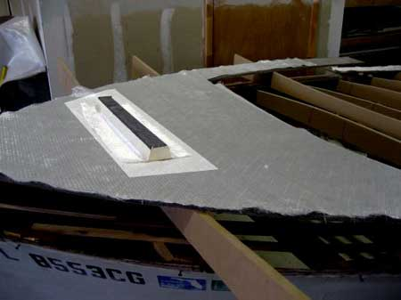 ... of foam planks the same way as in plywood/epoxy/glassconstruction