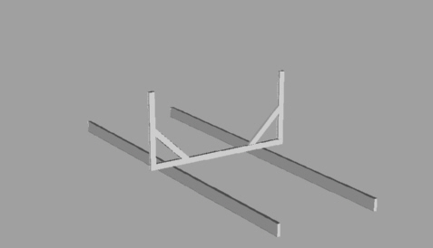 Build and set up the other partial frames.